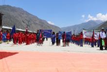 छायाँनाथ रारा नगरपालिका मुगु द्वारा संञ्चालित प्रथम मेयर कप २०७५/०२/०७ गते पहिलाे दिन ।