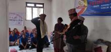 छायाँनाथ रारा नगरपालिका मुगुका रिक्रुट नगर प्रहरी हरूको  आधारभुत तालिम उद्घाटन समारोहका केही दृष्यहरु ।