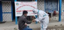 छायााँनाथ रारा नगरपालिका मुगु  द्वारा  तेस्राे मुलुकबाट नगरपालिका भित्रिएका नागरिकहरूकाे RDT परिक्षण  शुभारम्भ ।